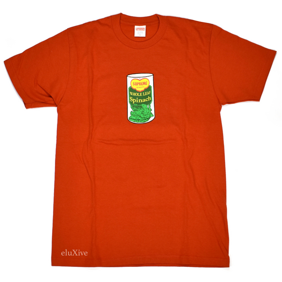 Supreme - Red Spinach Logo T-Shirt
