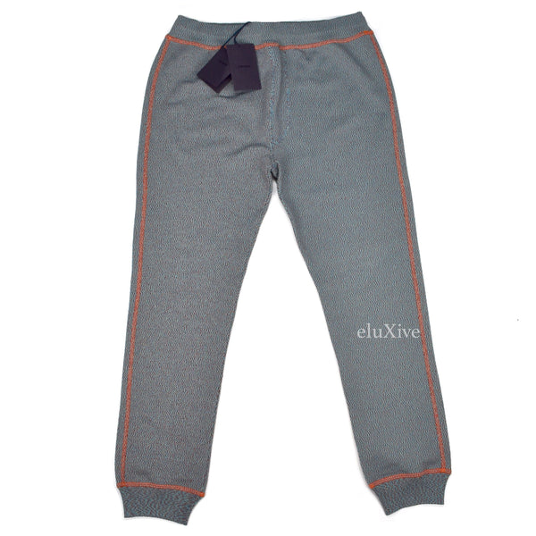 Prada - TV Static Knit Jogger Pants
