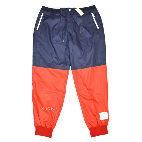 Thom Browne - Color Blocked Nylon Track Pants