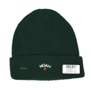 Noah - Dark Green Core Logo Beanie (FW18)