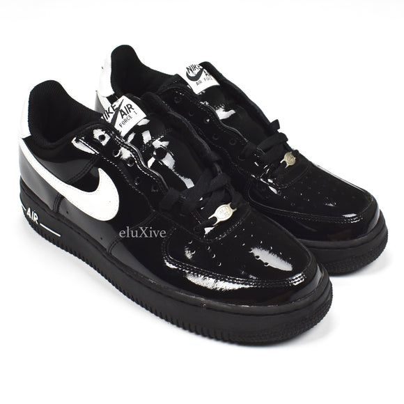 Nike - Air Force 1 Low Patent Leather (Black/White)