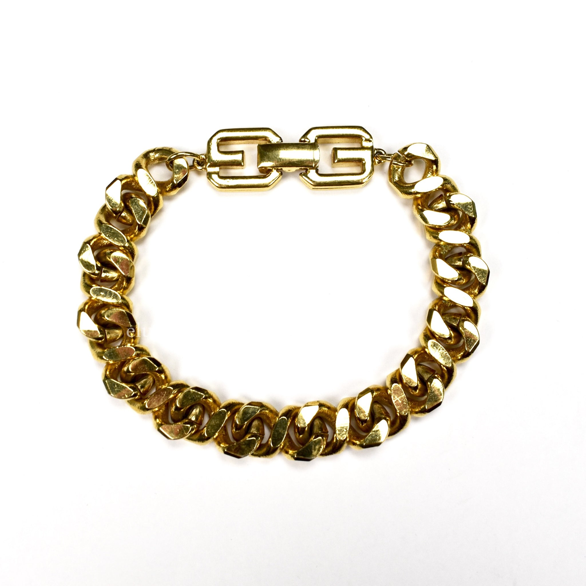 Givenchy - Gold Curb Link Chain Bracelet