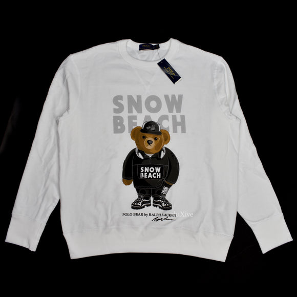 Polo Ralph Lauren - Snow Beach Monochrome Bear Sweatshirt