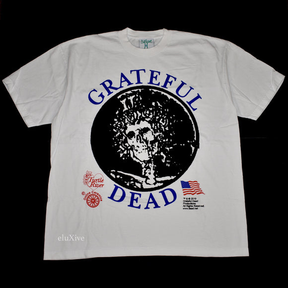 Online Ceramics - Grateful Dead Turtle River T-Shirt (White)