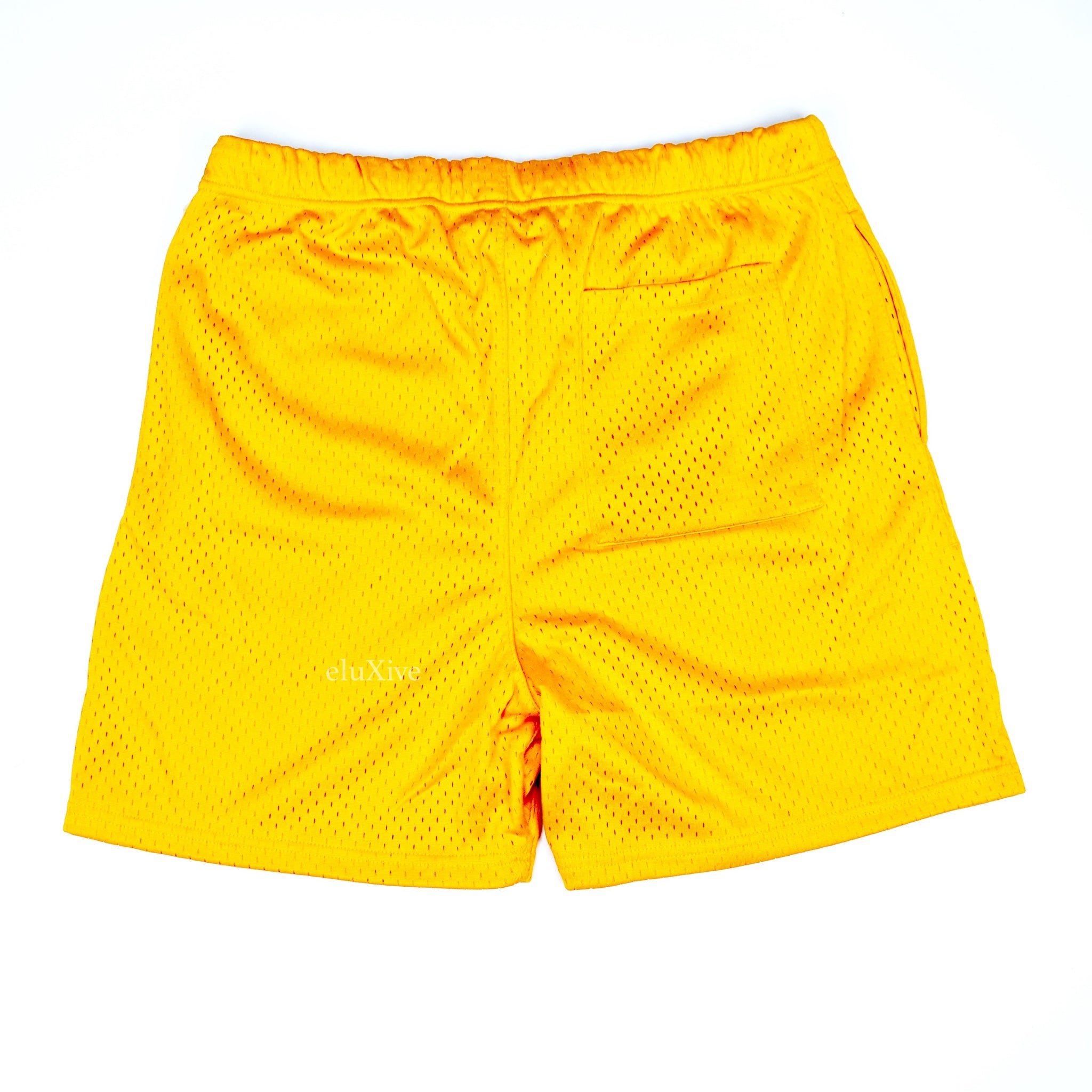 Fear of God - Essentials Mesh Logo Shorts (Yellow)