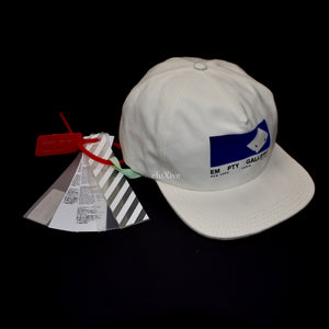 Off-White - EM PTY GALLERY Velvet Logo Hat