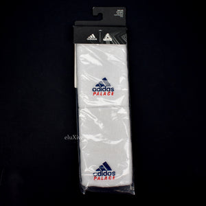 Palace x Adidas - White Logo Embroidered Tennis Wristbands