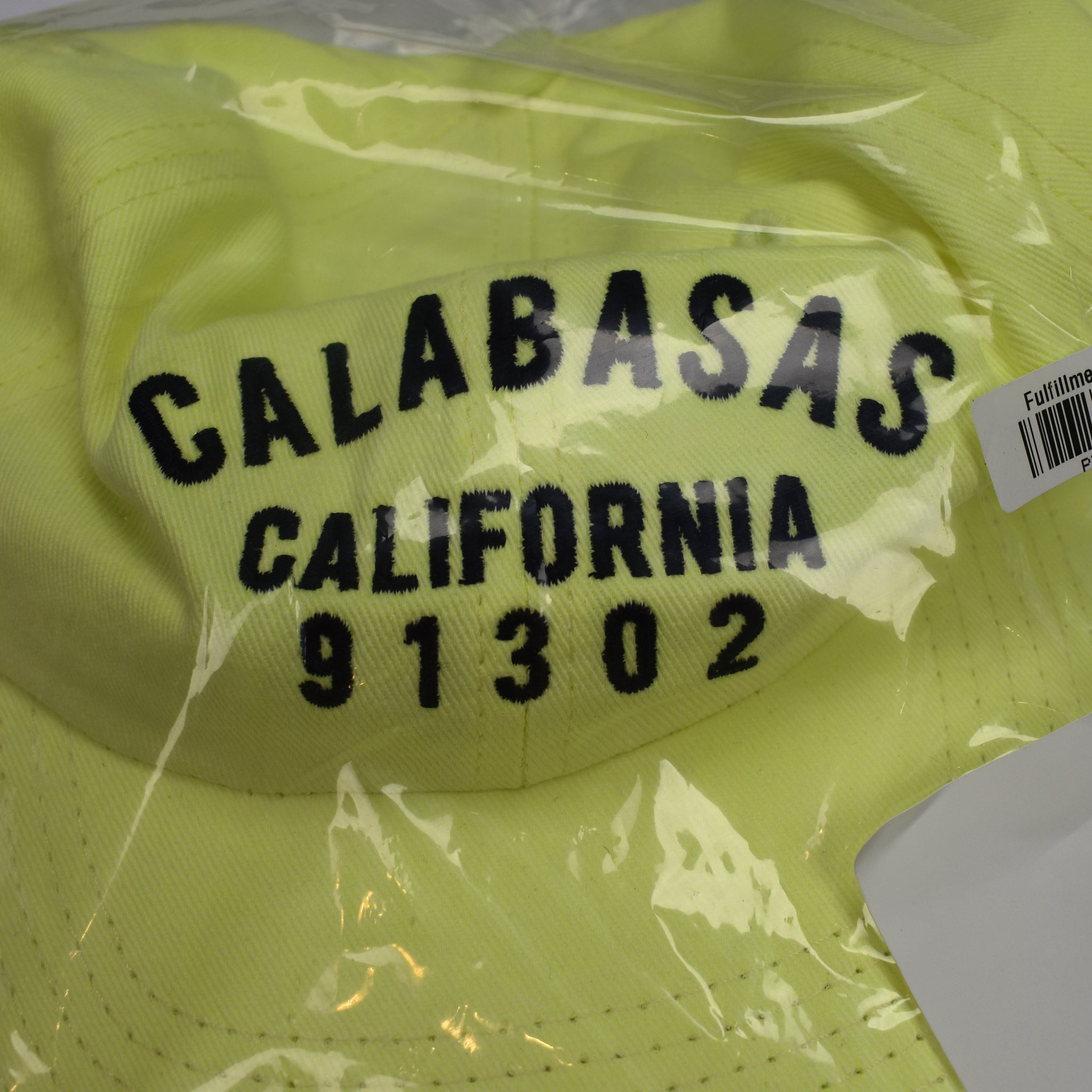 e93a7af7f93 Yeezy - Frozen Yellow Calabasas California Embroidered Dad Hat – eluXive