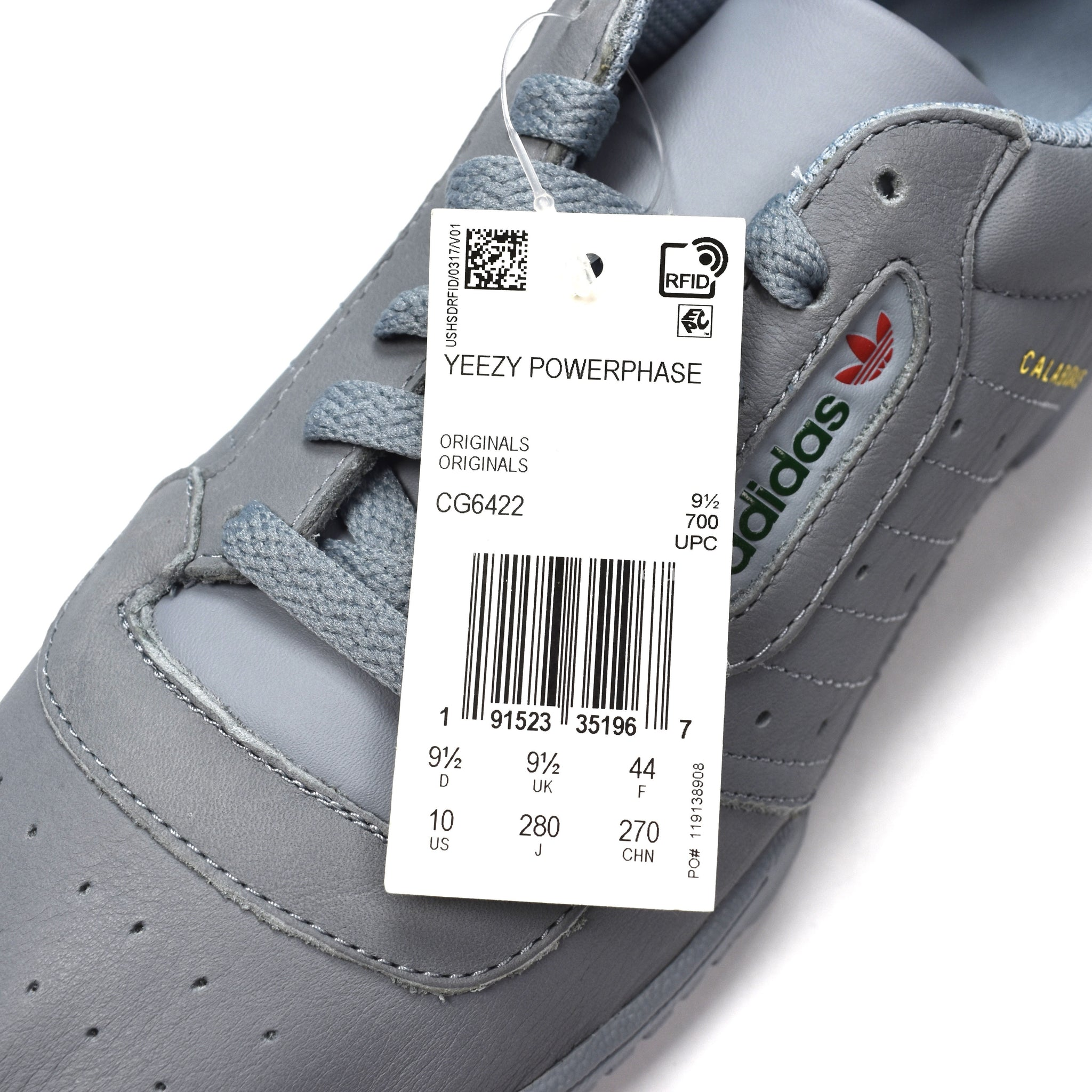 Adidas x Kanye West - Yeezy Powerphase (Gray)