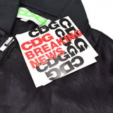 Comme Des Garcons - CDG Breaking News A/W '84-'85 Staff Jacket