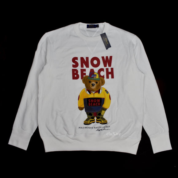 Polo Ralph Lauren - Snow Beach Bear Logo Sweatshirt