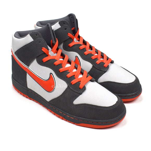 Nike - Dunk High 6.0 (Wolf Gray/Max Orange)