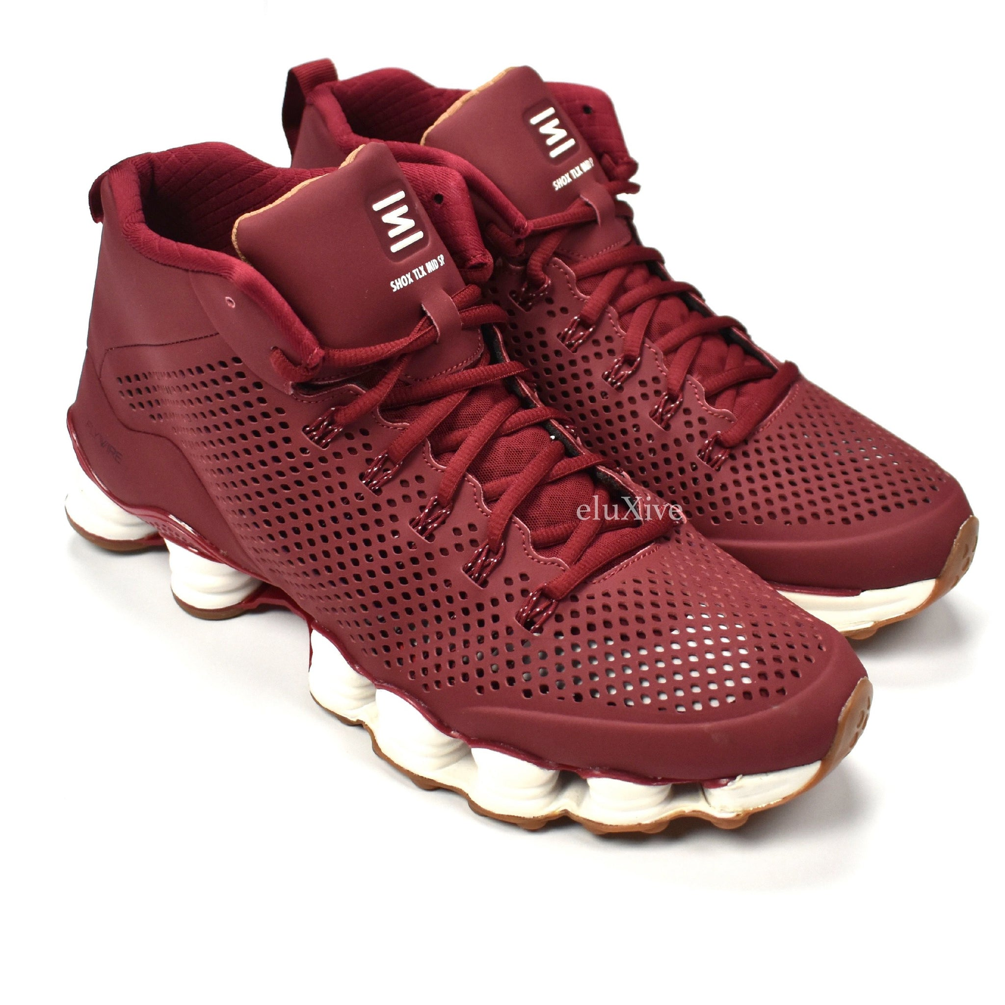 69db7e8fd1a6c2 Nike - Men s Total Shox TLX Mid SP Sneakers (Team Red   White   Gum ...
