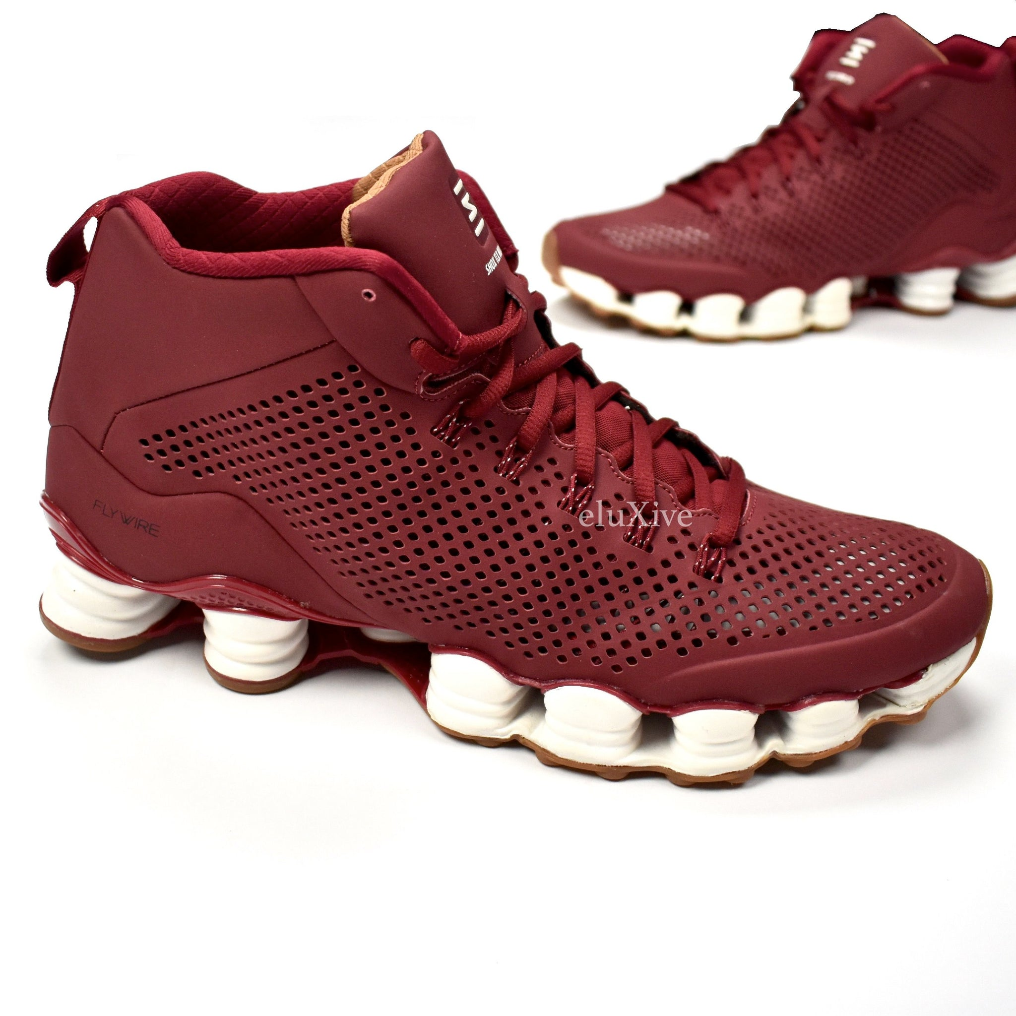 newest 98157 a8d5c Nike - Men's Total Shox TLX Mid SP Sneakers (Team Red ...