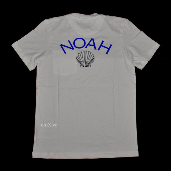Noah x Adidas - Shell Core Logo Pocket T-Shirt (White)