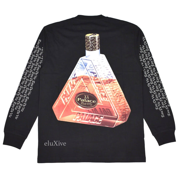Palace - Remy XO Bottle Logo L/S T-Shirt (Black)
