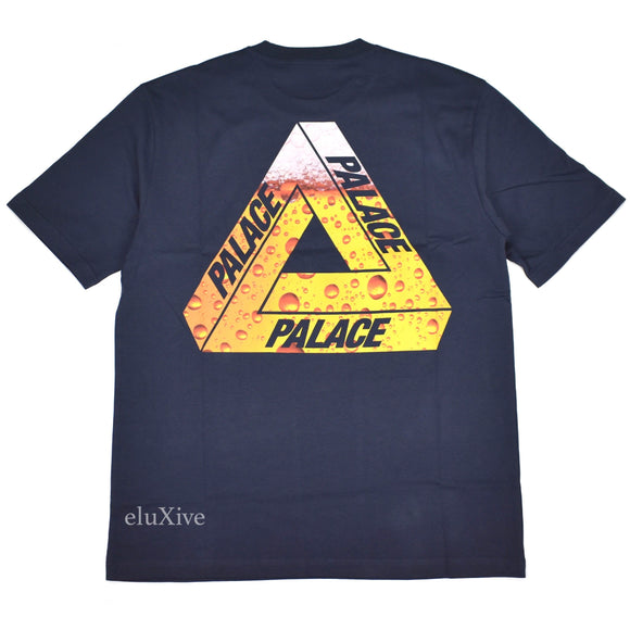 Palace - Lager Tri-Ferg T-Shirt (Navy)