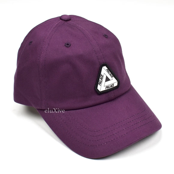 Palace - Tri-Ferg Logo Rubber Strap Hat (Purple)