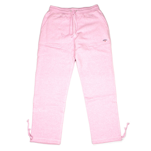 Noah - Pink Core Logo Sweatpants (SS18)