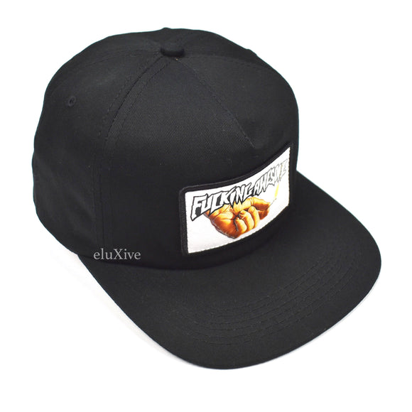Fucking Awesome - Black Pyro Logo Hat