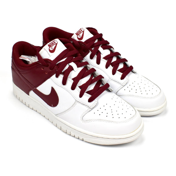 Nike - Dunk Low Leather 'Aggies' (White/Team Red)
