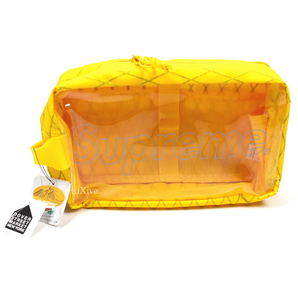 Supreme - Yellow Box Logo Utility Bag