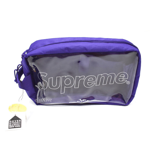 Supreme - Purple Box Logo Utility Bag