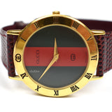 Gucci - 3000M Web Stripe Watch