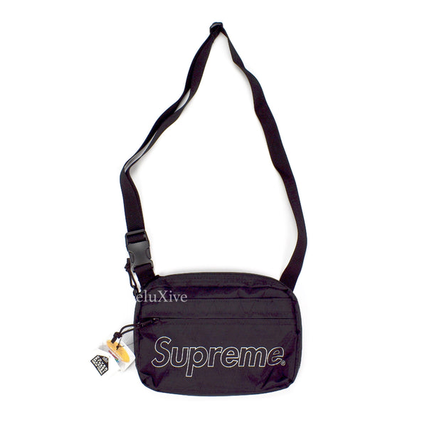 Supreme - Black Box Logo Shoulder Bag (FW18)