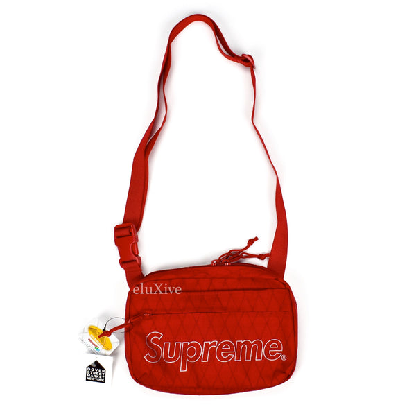 Supreme - Red Box Logo Shoulder Bag (FW18)