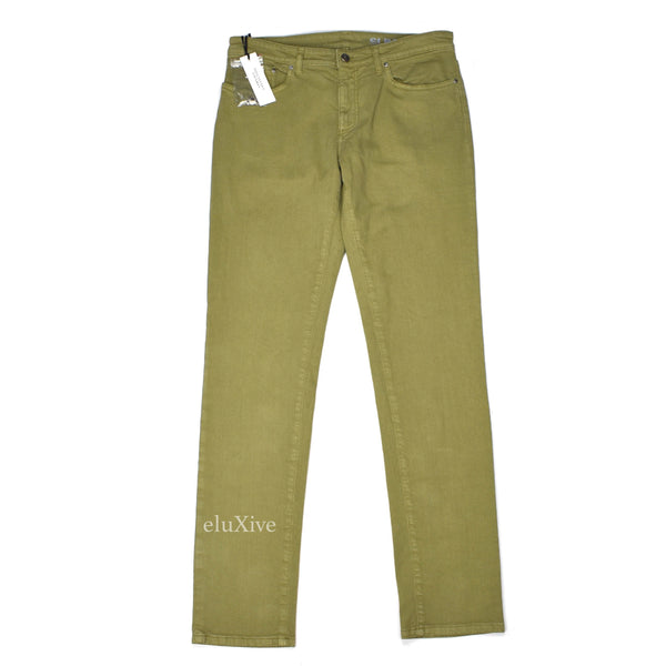 Versace - Light Olive Denim Jeans