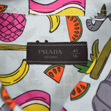 Prada - Pale Blue India Print Shirt