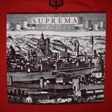 Supreme - Red Fiorenza 'Suprema' Logo T-Shirt