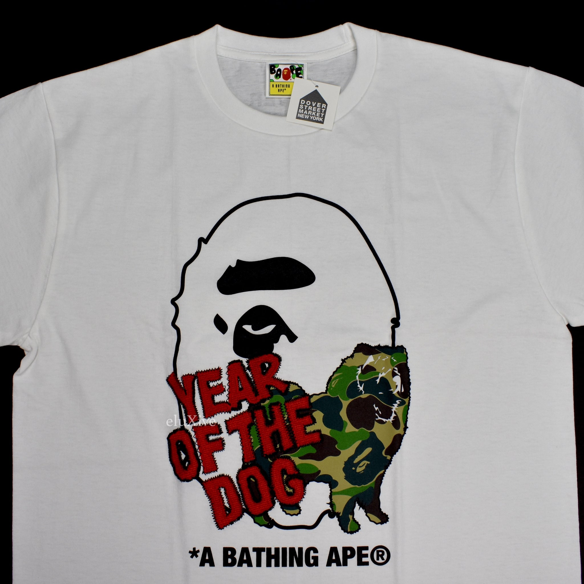 Bape x DSM - Year of the Dog Logo T-Shirt
