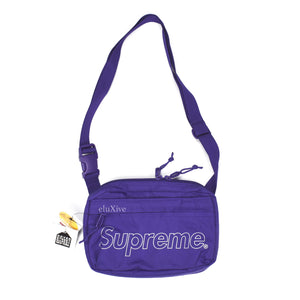 Supreme - Purple Box Logo Shoulder Bag (FW18)