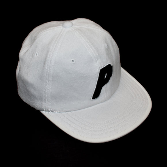 Palace - Towelling P-Logo Hat (White)