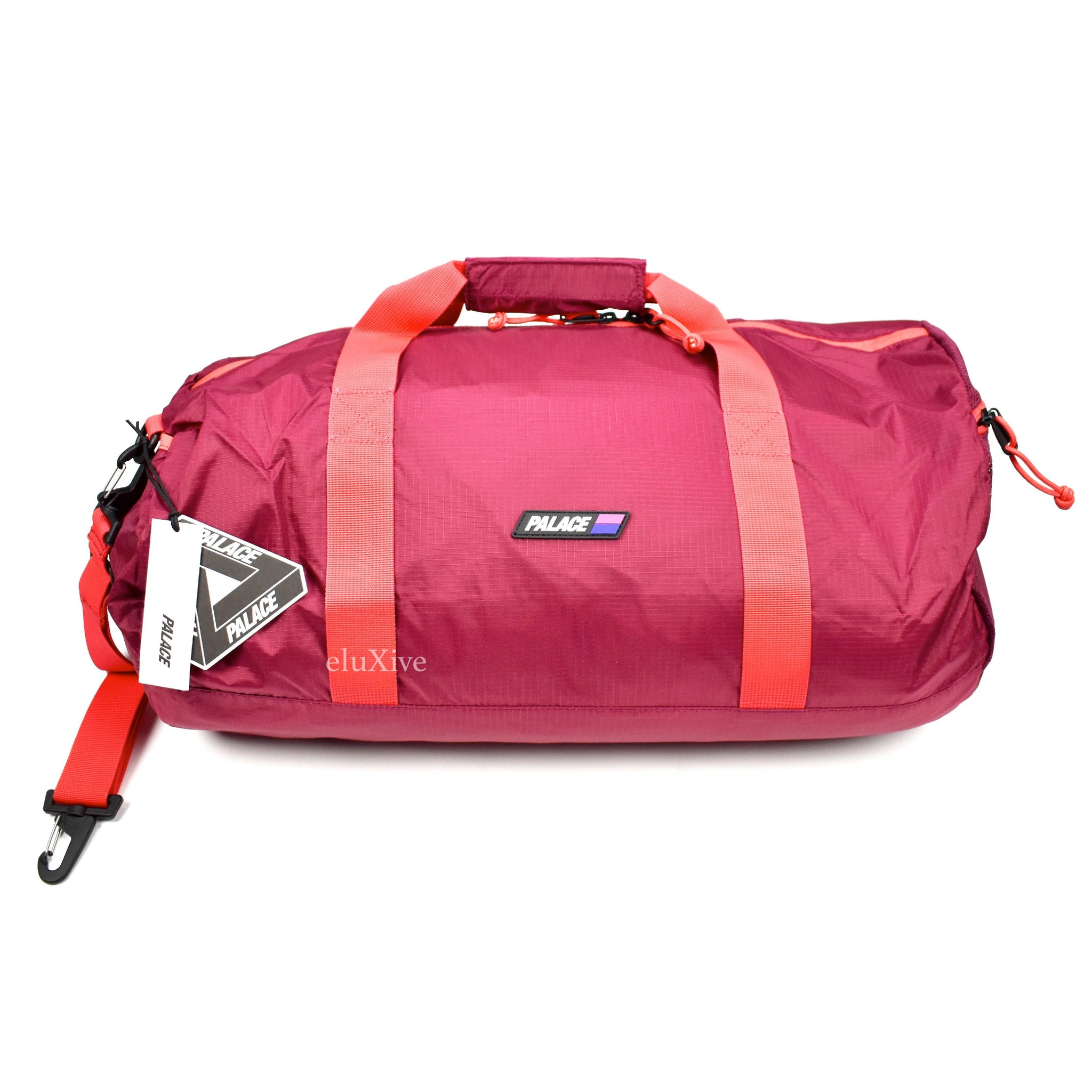 Palace - Red  Tube Packer  Duffle Bag – eluXive 64f893732815b