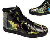 Gucci - Jungle Print Leather Sneakers