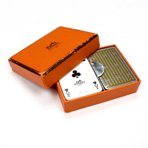 Hermes - Vintage H Logo Playing Cards