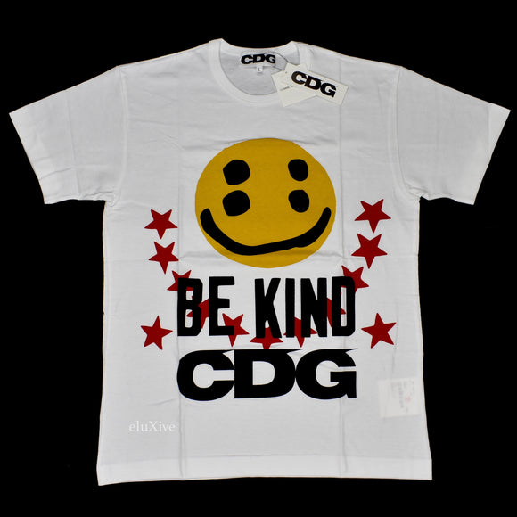 Comme des Garcons x CPFM - Smiley Face Logo T-Shirt