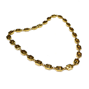 "Givenchy - 16"" Gold Logo Chain Necklace"