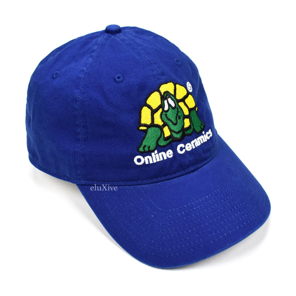 Online Ceramics - Blue Turtle Logo Embroidered Hat