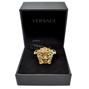 Versace - Gold Large Palazzo Medusa Ring