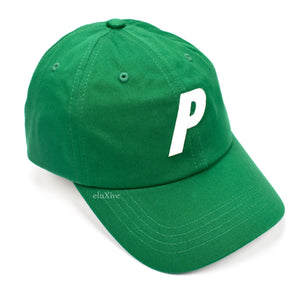 Palace - Green P-Logo Hat (FW19)