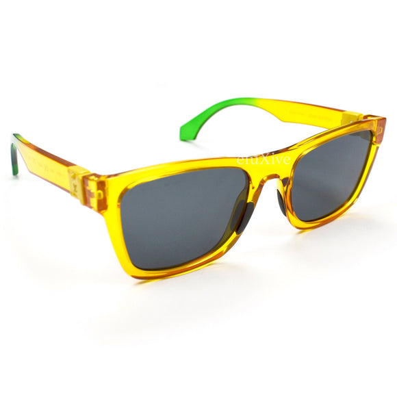 Louis Vuitton - Yellow Rainbow Square Sunglasses