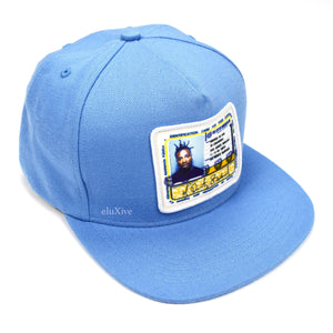 Supreme - Ol Dirty Bastard Logo Patch Hat (Blue)