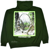 Online Ceramics - Green Taller than the Trees Logo Hoodie