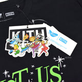 Kith x Jetsons - Astro Travelling Logo LS T-Shirt (Black)