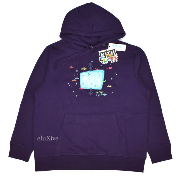 Kith x Jetsons - Drive In Logo Hoodie (Purple)