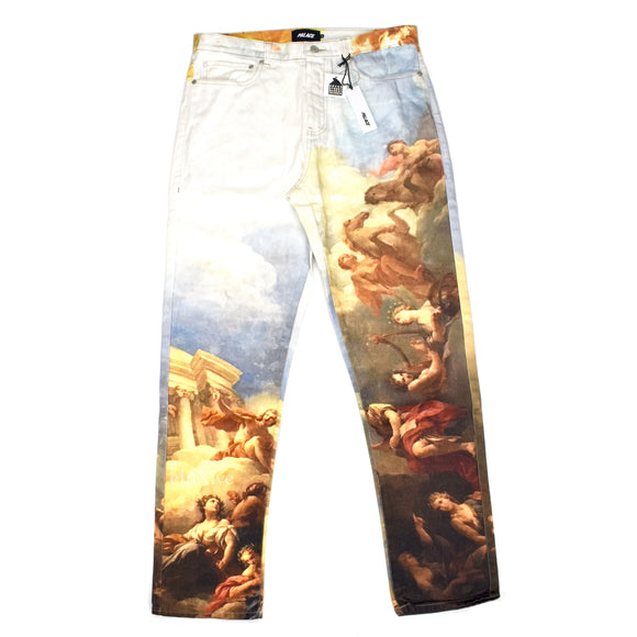 Palace - Persailles Artwork Print Denim Jeans